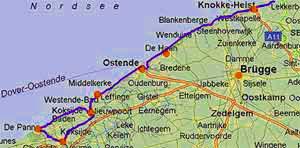 Karte Nordseeküste Holland.Karte Holland Belgien Küste Imvt